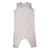 Organic Heather Grey Romper