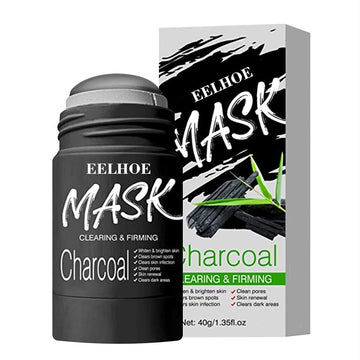 Bamboo Charcoal Clay Stick Mask Oil Control Deep Cleaning Face