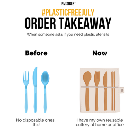 Plastic Free July - Bring Your Own Cutlery