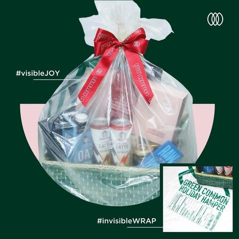 Green Common XMAS Hampers in #INVISIBLEBAG