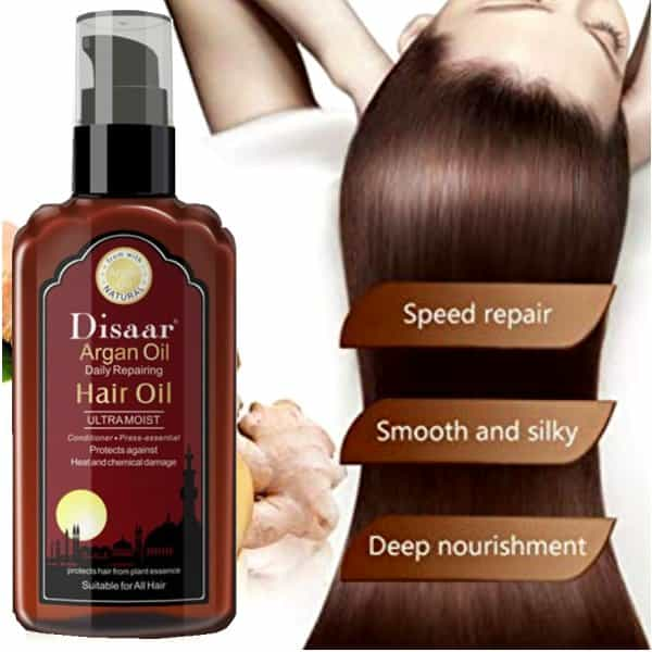Disaar Argan Daily Hair Repair Ultra Regrowth Oil