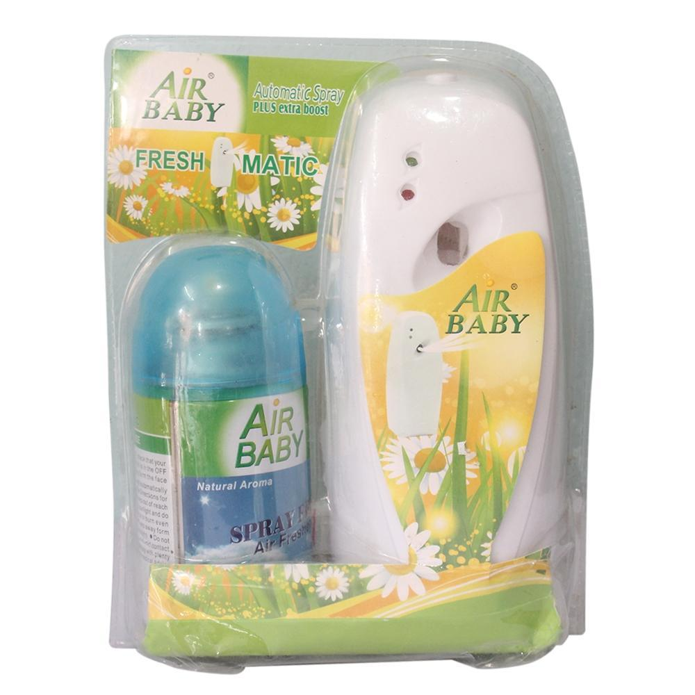 Best Air freshener Air Baby Automatic Spray Plus extra boost Air Freshener