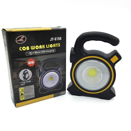Solar COB Work Portable Light