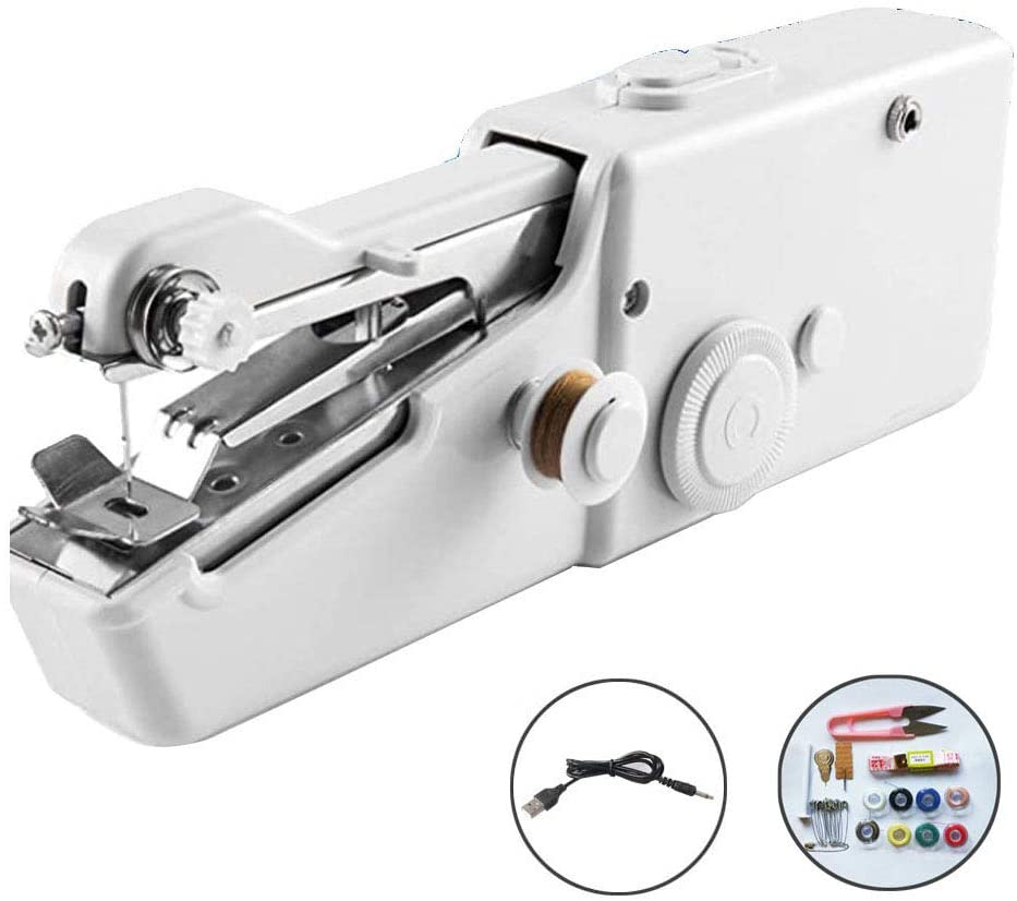 Handy Stitch Portable And Cordless Handheld Sewing Machine