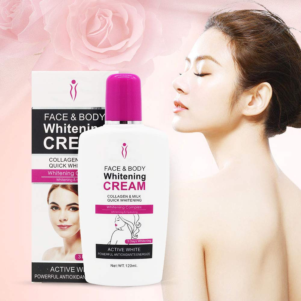 Face, Body Skin Whitening Cream For Body Face Dark Skin Bleaching Lotion Facial Cream