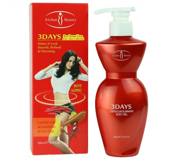 Aichun Beauty 3 Days Slim Down Your Waist Capsicum Body Gel