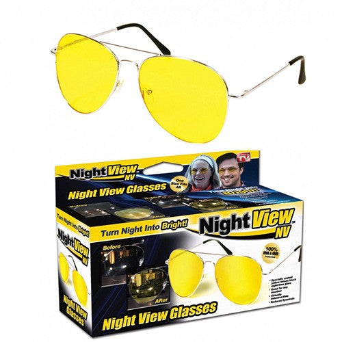 Night View NV Night Vision Driving Eye Glasses