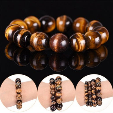 Tiger Eye Stone Yoga Bracelet