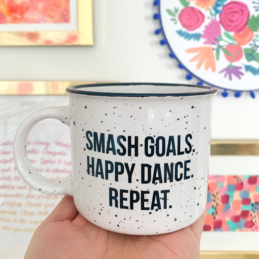 Smash Goals Ceramic Campfire Mug