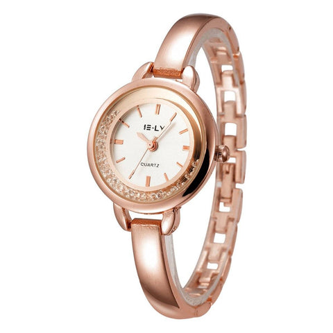 Ceas dama E-ly Evelyne rose gold - eSwiss.ro