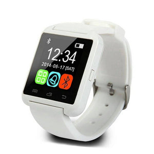 Smartwatch iUni U8+, Bluetooth, Activity & Sleep Monitor alb - eSwiss.ro