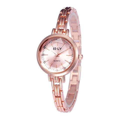 Ceas dama E-LY Beatrice rose gold - eSwiss.ro
