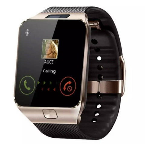 Image of Ceas Smartwatch S-Gear DZ09 auriu