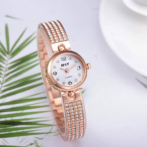 Ceas dama E-LY Zahella rose gold