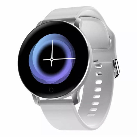 Smartwatch S530 Bluetooth, IP67, Fitness Tracker, Monitorizare ritm cardiac, Compatibilitate Android si iOS, alb