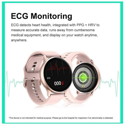 Image of Smartwatch S540 cu Bluetooth, monitorizarea ritmului cardiac, notificari, alarma, functii Fitness