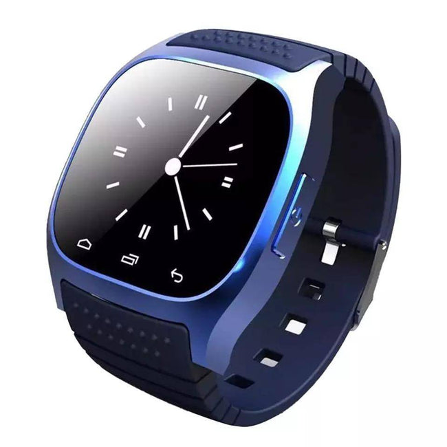 Smartwatch S560 Bluetooth, Sport, Pedometru, Monitorizare somn, Anti-Pierdere, Monitorizare fitness etc. albastru - eSwiss.ro