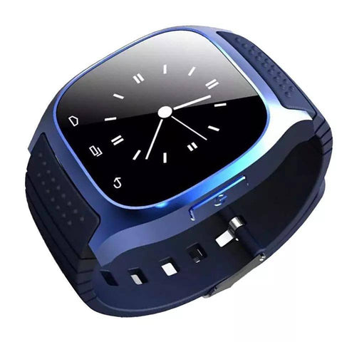 Image of Smartwatch S560 Bluetooth, Sport, Pedometru, Monitorizare somn, Anti-Pierdere, Monitorizare fitness etc. albastru - eSwiss.ro