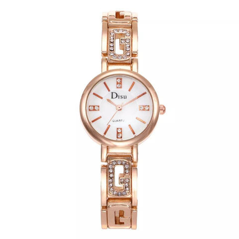 Ceas dama Disu Cross rose gold