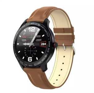 Ceas smartwatch S628, display 1.3 inch IPS cu touch screen, rezolutie 240 x 240 pixeli, capacitate baterie 300 mAh