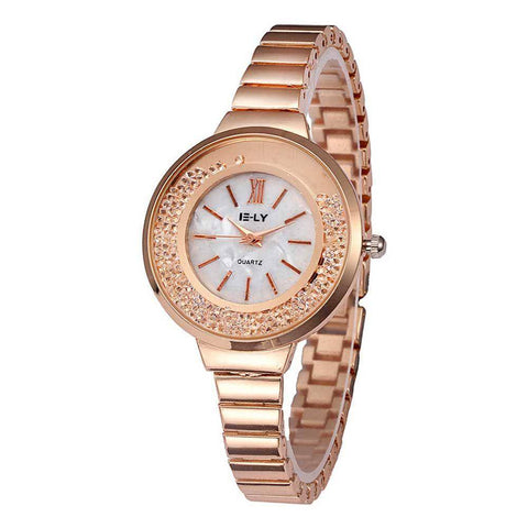 Ceas dama E-LY Evora rose gold