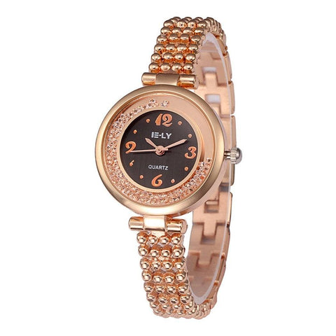 Ceas dama E-ly Fantasy rose-gold - eSwiss.ro