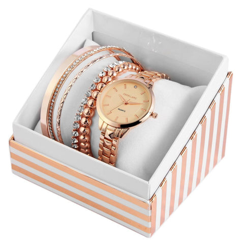 Image of Set cadou, ceas dama, Excellanc EX0036R rose gold