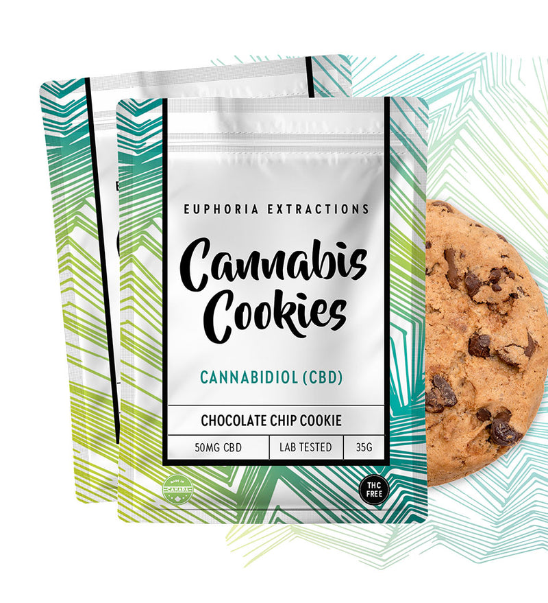 CBD Euphoria Extractions Shatter Cookies 50mg