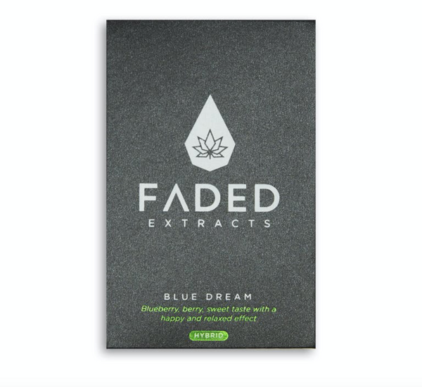Faded Cannabis Co. Premium Shatter - Blue Dream (Hybrid)