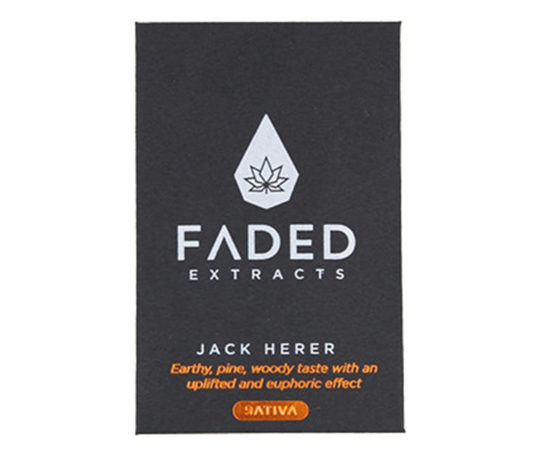 Faded Cannabis Co. Premium Shatter - Jack Herer (Sativa)