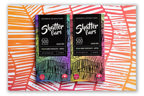 Euphoria Extractions Shatter Bar 500mg (Indica)
