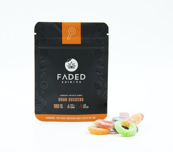 Faded Infused Edibles - Grape Crush THC 180mg