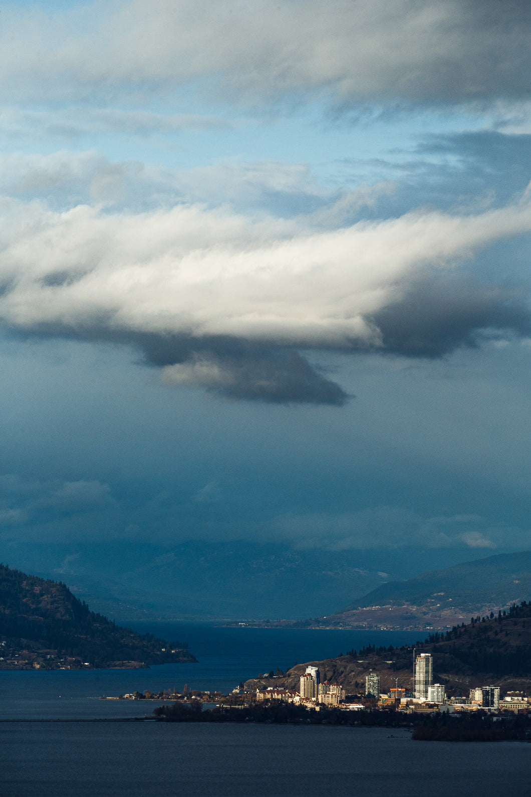 The Clouds Part II - Kelowna, BC, late November.
