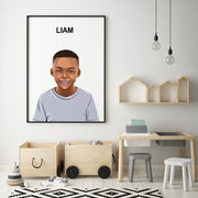 Custom Kids Portrait