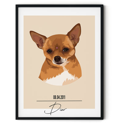 Signature Custom Pet Portrait