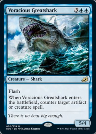 Voracious Greatshark [Ikoria: Lair of Behemoths] | Digital Heroes