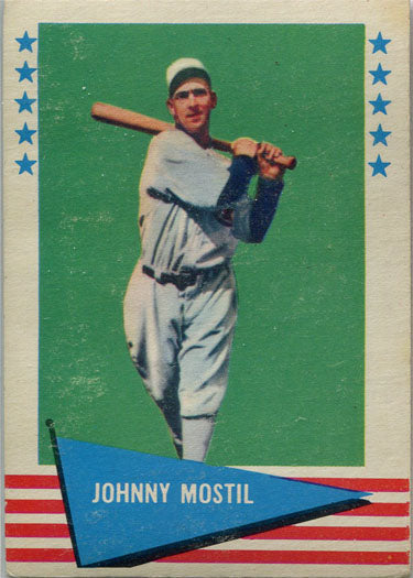 Fleer Baseball Greats 1961 Base Card 64 Johnny Mostil | Digital Heroes