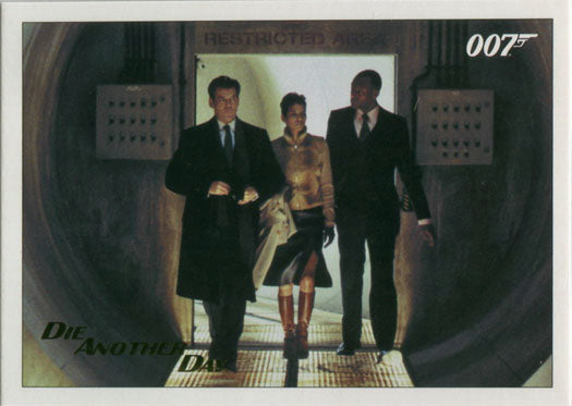 James Bond Archives 2017 Final Die Another Day Card 72 Gold Foil Parallel #129 | Digital Heroes