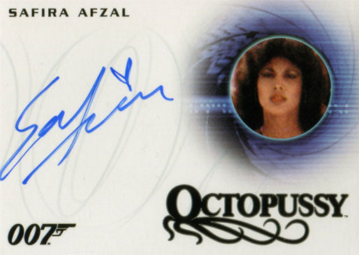 James Bond 007 Classics Autograph Card A266 Safira Afzal as Octopussy Girl | Digital Heroes
