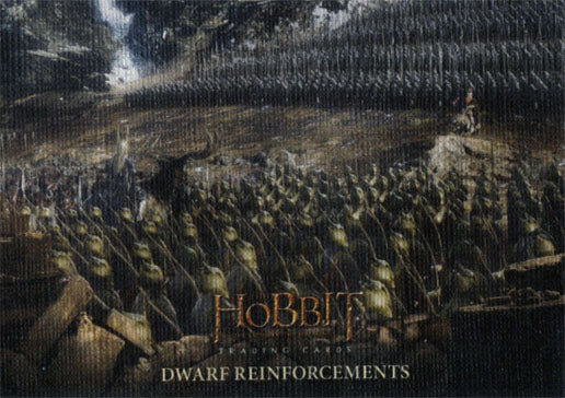 Hobbit Battle of the Five Armies Canvas Base 48 Parallel Chase Card 43/75 | Digital Heroes