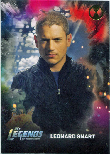 DCs Legends of Tomorrow Rip Hunter Deco Foil Character Bios Parallel Card C8 | Digital Heroes