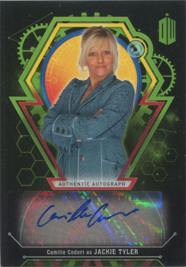 Doctor Who Extraterrestrial Encounters Autograph Card Camille Coduri #27/50 | Digital Heroes