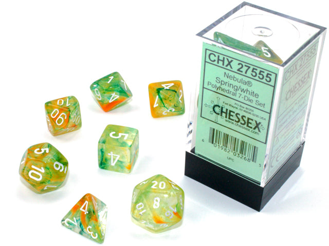 Chessex: Polyhedral Nebula™ Dice sets | Digital Heroes