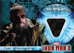 Iron Man 3 Movie Costume Memorabilia HT-8 Ben Kingsley as The Mandarin V2 | Digital Heroes
