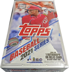 Topps 2021 Series 1 Baseball Factory Sealed Hobby Card Box | Digital Heroes