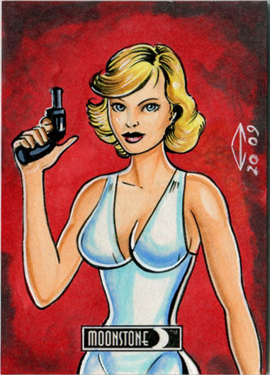 DH 2017 5finity Moonstone Maximum Sketch Card by Anthony Hochrein V3 | Digital Heroes