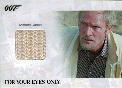 James Bond Archives 2014 JBR42 Relic Costume Card Julian Glover 026 of 375 | Digital Heroes
