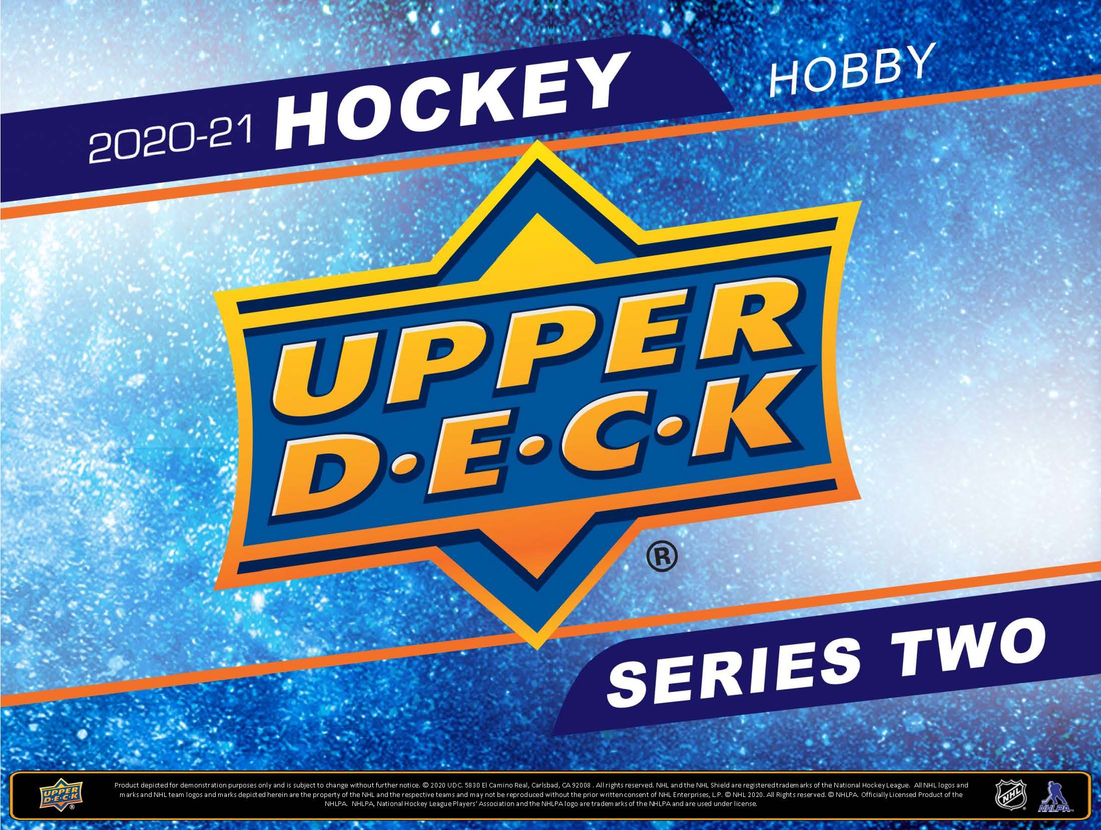 Upper Deck Series 2 Hockey 2020-21 Sealed Hobby Box | Digital Heroes