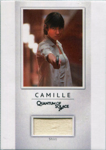 James Bond Archives 2017 Final Relic Costume Card PR25 Camilles Shirt #018/200 | Digital Heroes
