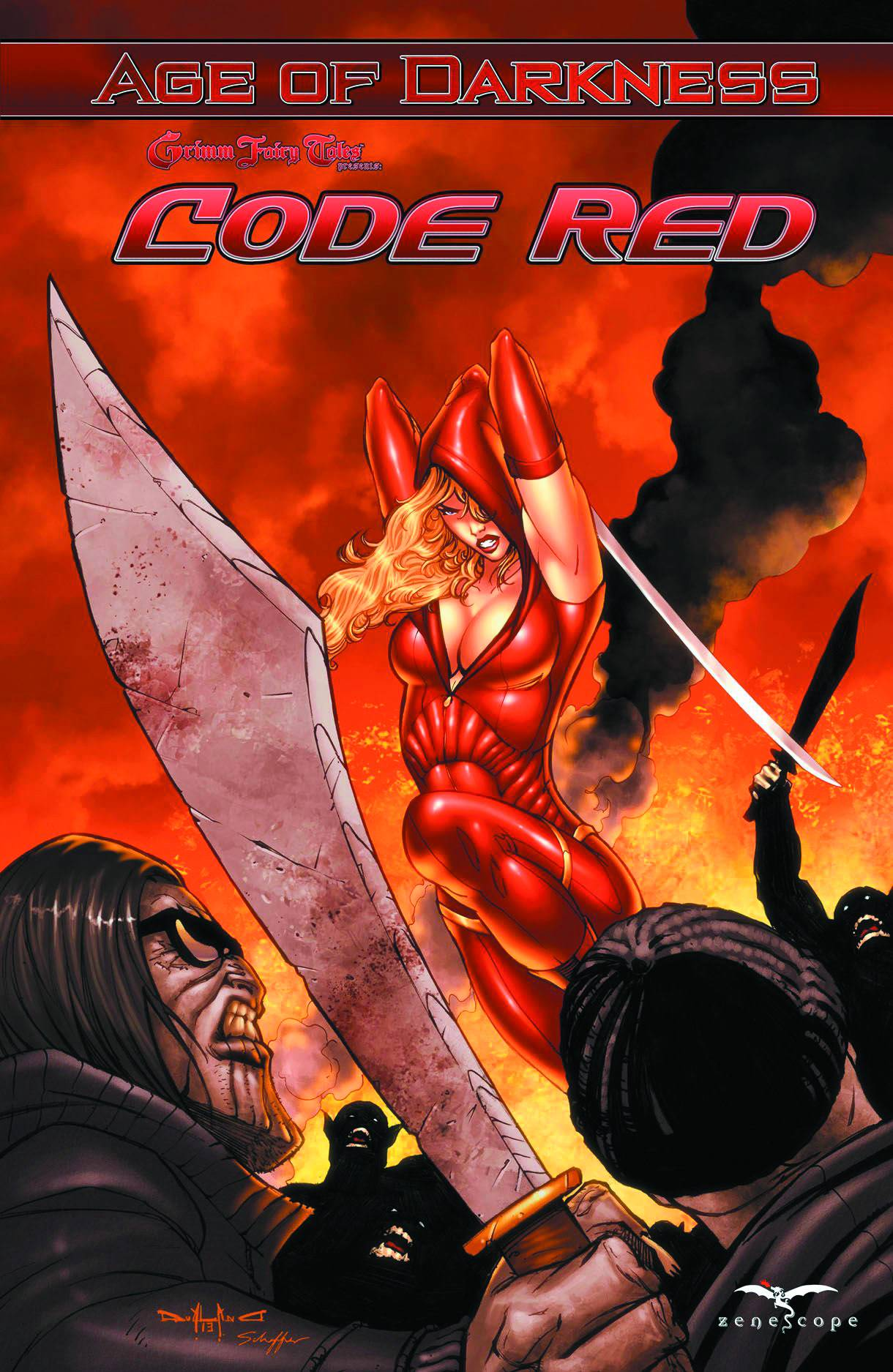 Grimm Fairy Tales presents Code Red TPB Bk 1  NM | Digital Heroes